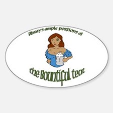 Bountiful Teat Decal