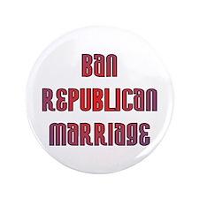 "Republican Marriage 3.5"" Button"