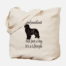 Newfoundlands It's A Lifestly Tote Bag