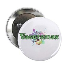 "Vagetarian 2.25"" Button"