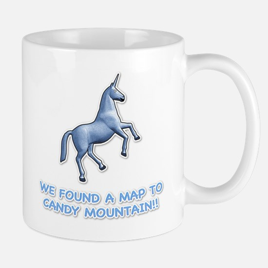We found a map to Candy Mount Mug