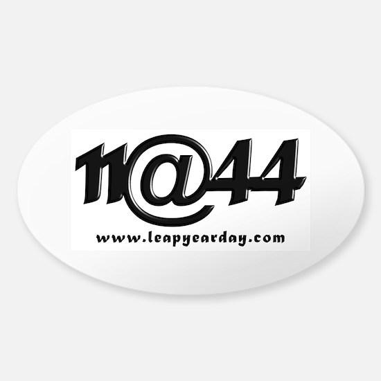 11@44 Sticker (Oval)