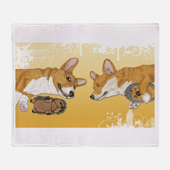 Best Buds Throw Blanket