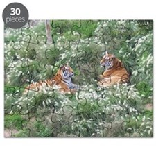 Tigers Resting Puzzle