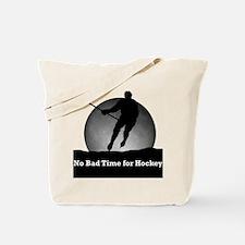 No Bad Time For Hockey Tote Bag