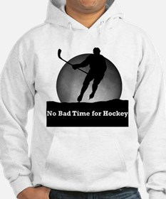 No Bad Time For Hockey Hoodie