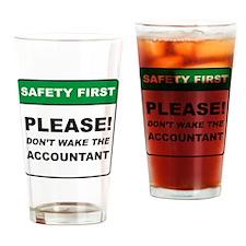 Accountant / Wake Drinking Glass