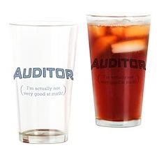 Auditor - Math Drinking Glass