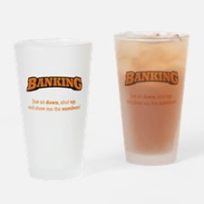 Banking-Numbers Drinking Glass