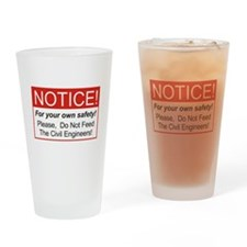 Notice / Civil Eng. Drinking Glass
