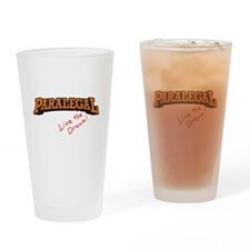 Paralegal / Live Drinking Glass