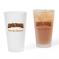 Real Estate / Dream Drinking Glass