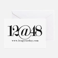 12@48 Greeting Card