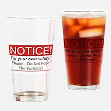 Notice / Farmers Drinking Glass