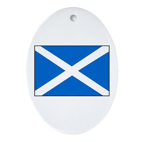 Scotland Oval Ornament