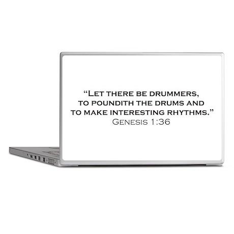 Drummer / Genesis Laptop Skins
