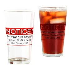 Notice / Surveyors Drinking Glass