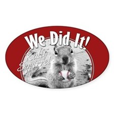 Rally Squirrel 2011 Champions Decal