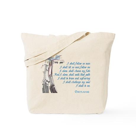 I Shall Be Me Tote Bag