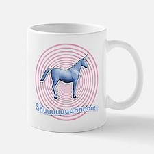 Shuuuunnn! Blue unicorn! Mug