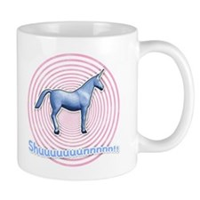 Shuuuunnn! Blue unicorn! Mug