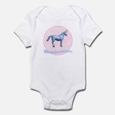 Shuuuunnn! Blue unicorn! Infant Creeper