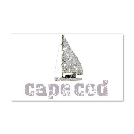 Cape Cod Sailboat Car Magnet 20 x 12