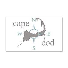 Cape Cod Compass Car Magnet 20 x 12