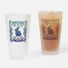 Rabbit Lattice Drinking Glass