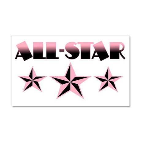 All-Star Car Magnet 20 x 12