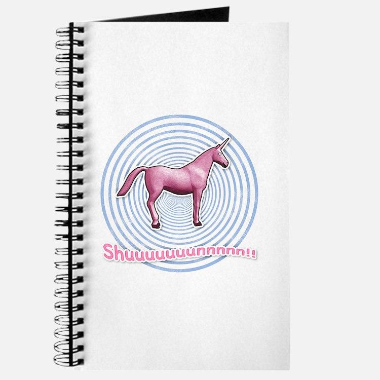 Shuuuunnn! Pink unicorn! Journal