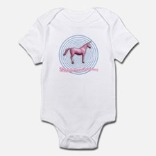 Shuuuunnn! Pink unicorn! Infant Creeper