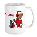 Beary Christmas Large Mug