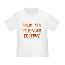 Tiny Cheap Ass Halloween Costume T