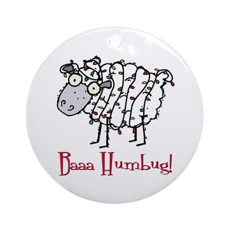 Holiday Humbug Ornament (Round)