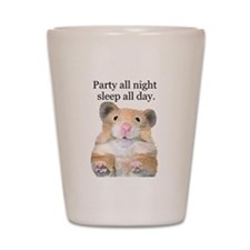 Party Hamster Shot Glass