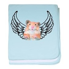 Hamster Angel baby blanket
