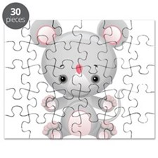 Cute Kawaii Mouse Rat Puzzle