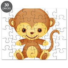 Cute Kawaii Monkey Puzzle