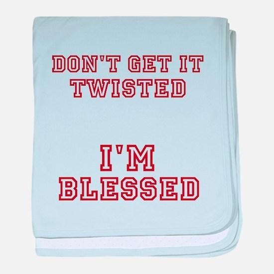 Unique Funny religious baby blanket