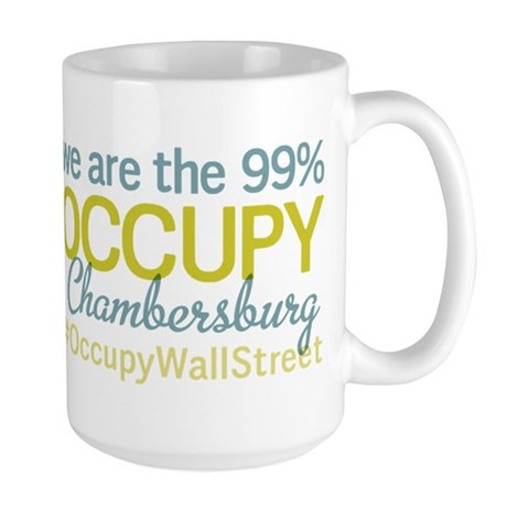 Occupy Chambersburg Large Mug
