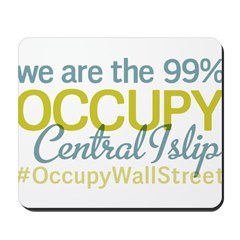 Occupy Central Islip Mousepad