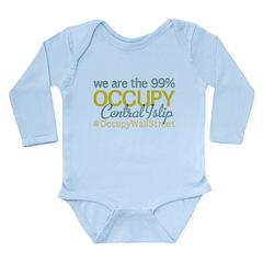 Occupy Central Islip Long Sleeve Infant Bodysuit