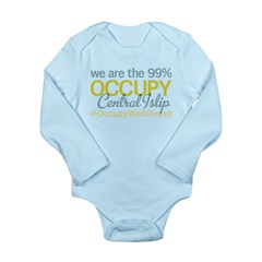 Occupy Central Islip Long Sleeve Infant Bodysuit