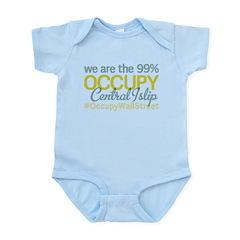 Occupy Central Islip Infant Bodysuit