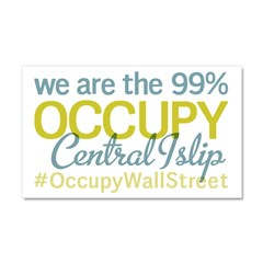 Occupy Central Islip Car Magnet 20 x 12