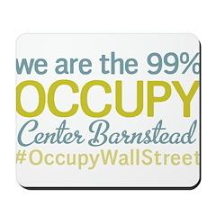 Occupy Center Barnstead Mousepad