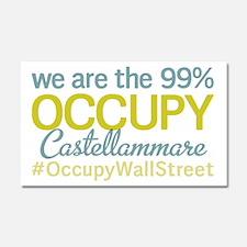 Occupy Castellammare di Stabi Car Magnet 20 x 12