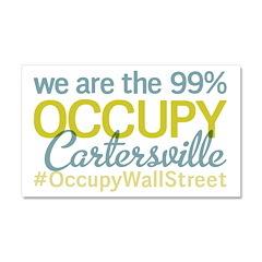 Occupy Cartersville Car Magnet 20 x 12