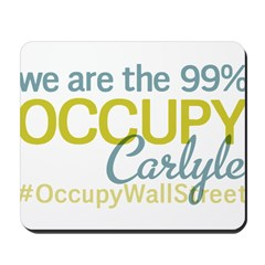 Occupy Carlyle Mousepad